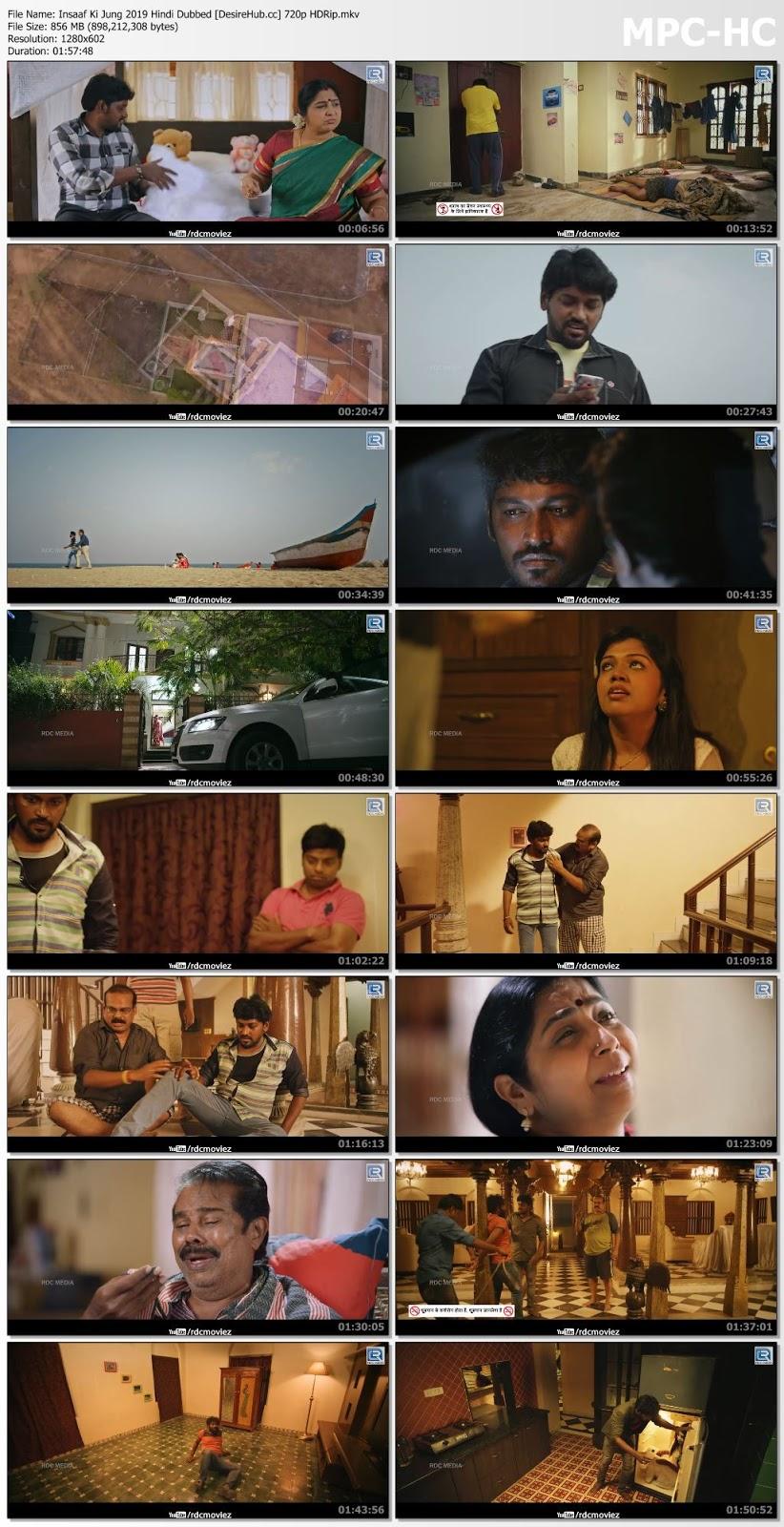 Insaaf Ki Jung 2019 Hindi Dubbed 720p HDRip 850mb Desirehub