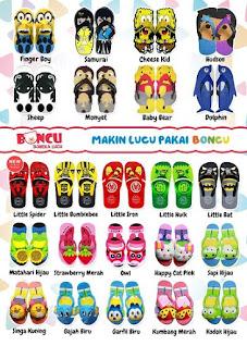 Katalog Sandal Boncu