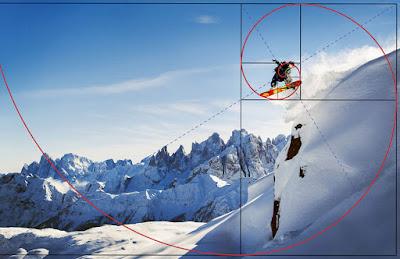 Komposisi Dasar Foto dalam Fotografi snowboard