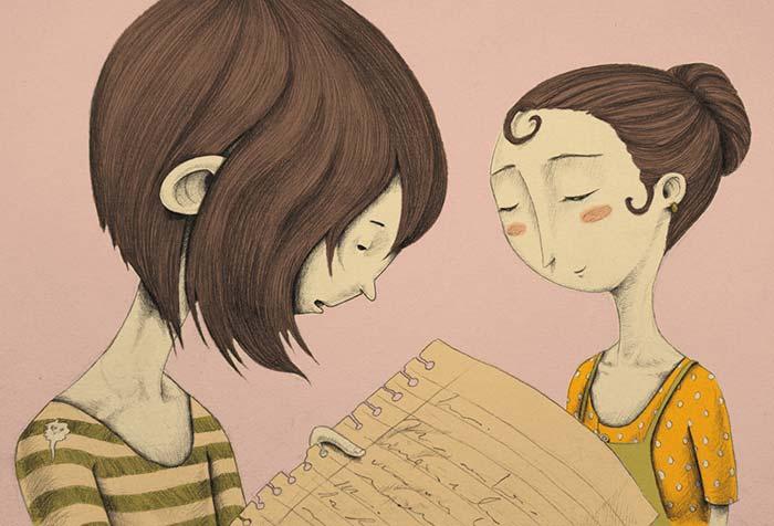 Ilustración de Maria P Restrepo