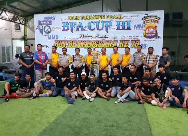 FC.Shaka Juarai Turnamen BFA CUP III Pada HUT Bhayangkara Ke 73