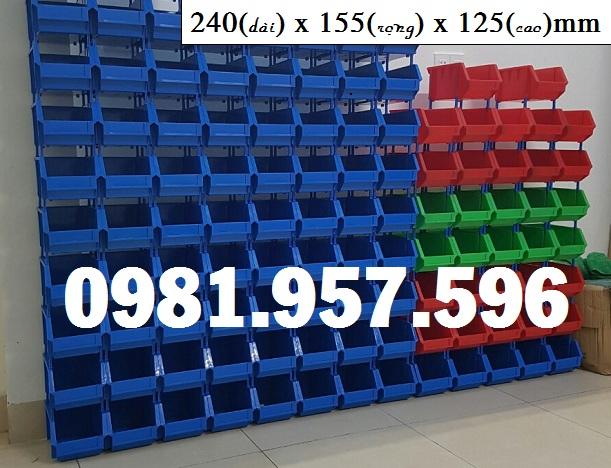 Khay linh kiện 240x155x125mm, khay chống tầng DT2
