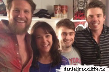 Google+: 'How to Succeed' cast backstage at The Cripple of Inishmaan