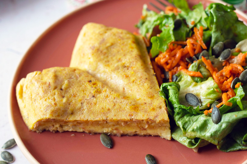 recette Quiche sans pâte au thon et curcuma