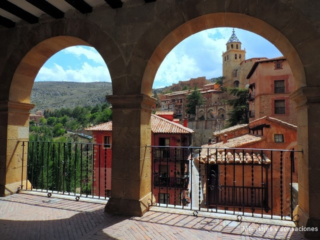 Mirador de la Plaza Mayor, Albarracín, Aragón