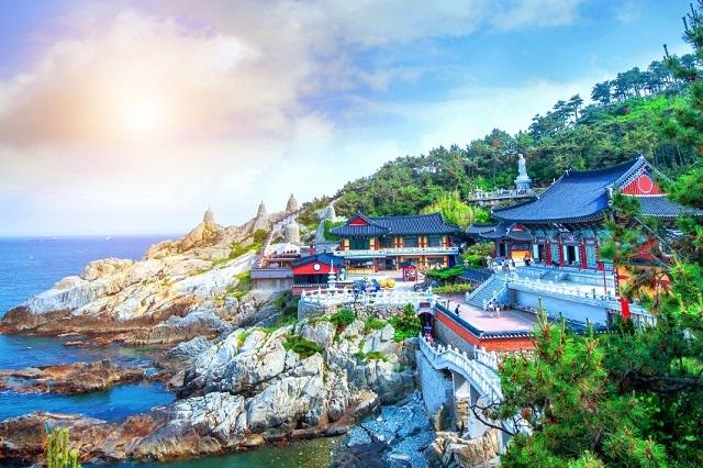 Thành phố biển Busan.