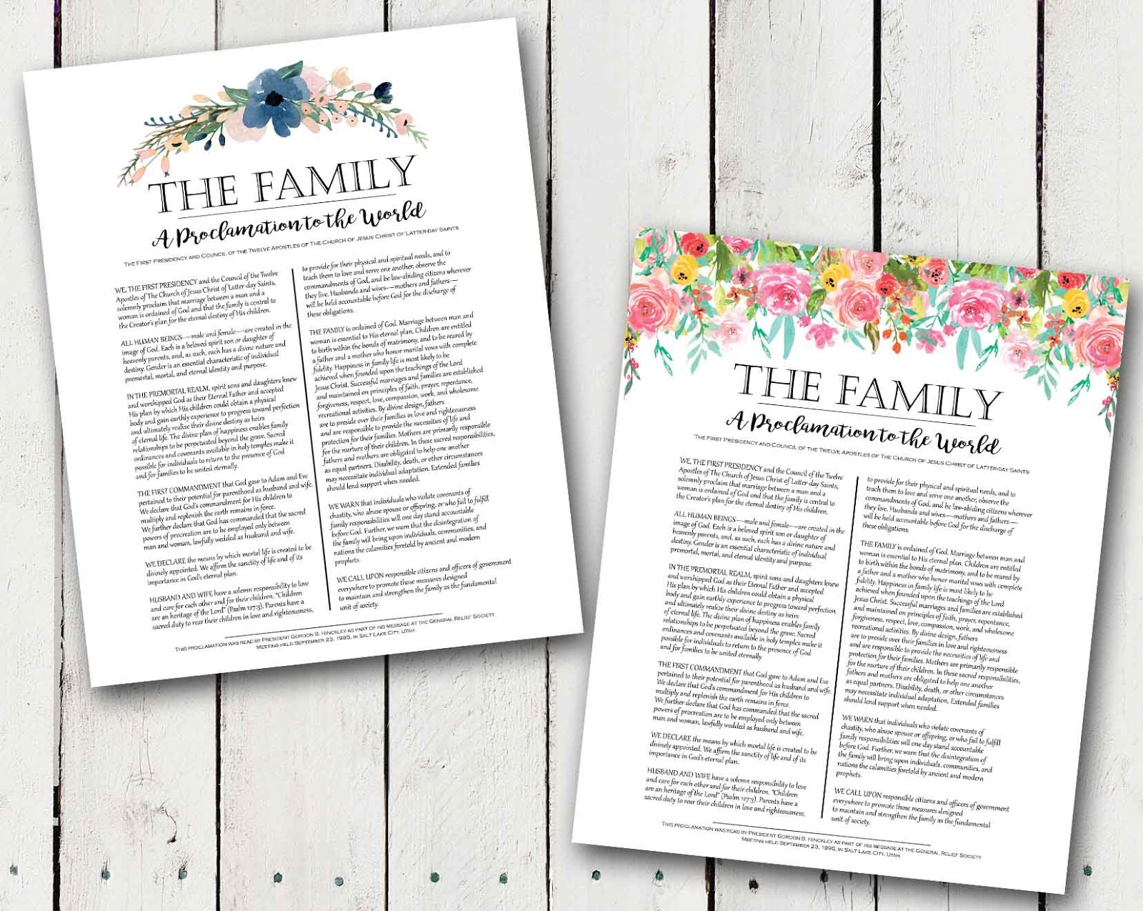 picture about The Family a Proclamation to the World Free Printable referred to as A Pocket total of LDS prints: The Loved ones: A Proclamation in the direction of