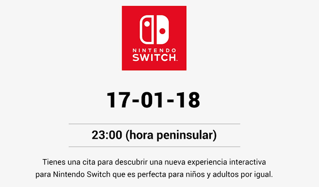 Nintendo anuncia direct para hoy día 17, ¿experiencia interactiva?