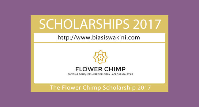 The Flower Chimp Scholarship 2017