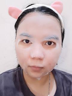 OMO! Cupra Silk Facial Mask