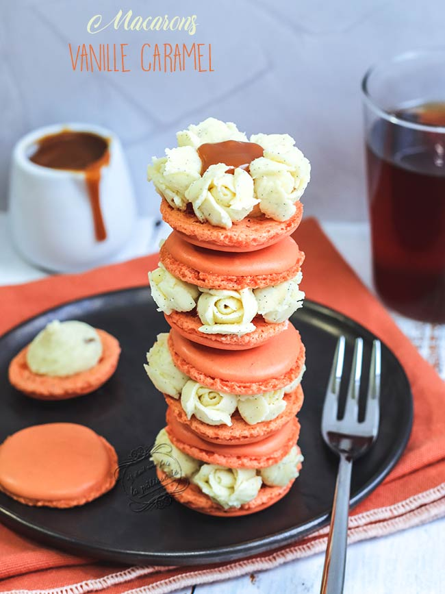 macarons-vanille-caramel