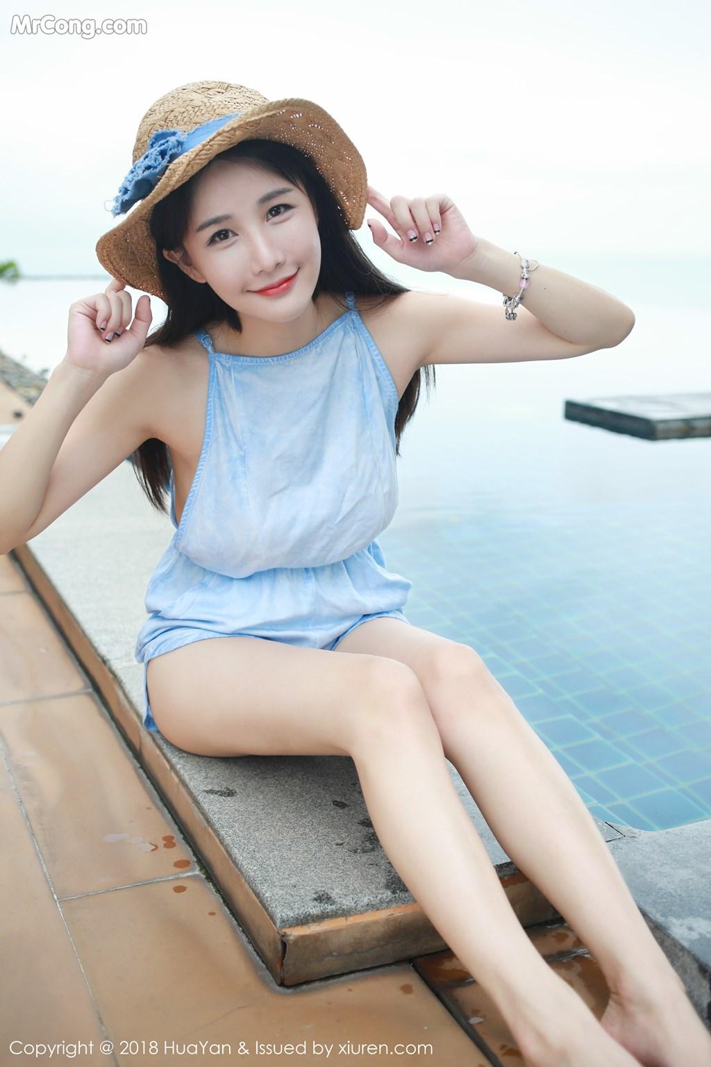 Image HuaYan-Vol.057-Xiao-Mo-Lin-MrCong.com-007 in post HuaYan Vol.057: Người mẫu Xiao Mo Lin (小沫琳) (41 ảnh)