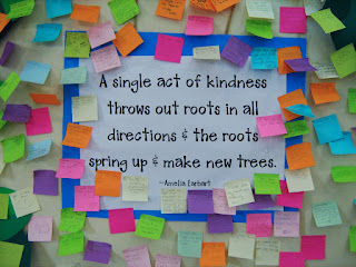 Small acts of Kindness positive quote