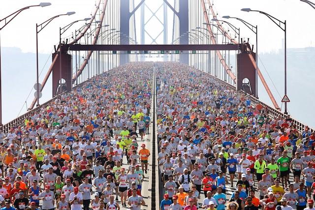 Maratona em Lisboa