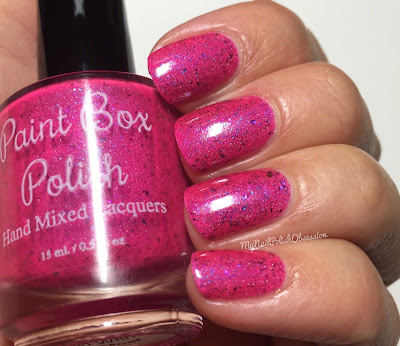 My Nail Polish Obsession 4th Blogiversary Custom Polishes; Paint Box Polish Girl With the Most Cake
