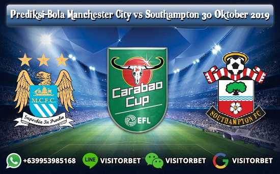 Prediksi Skor Manchester City vs Southampton 30 Oktober 2019