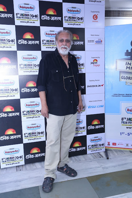Actor Lalit Behl during the 8th Jagran Film Festival