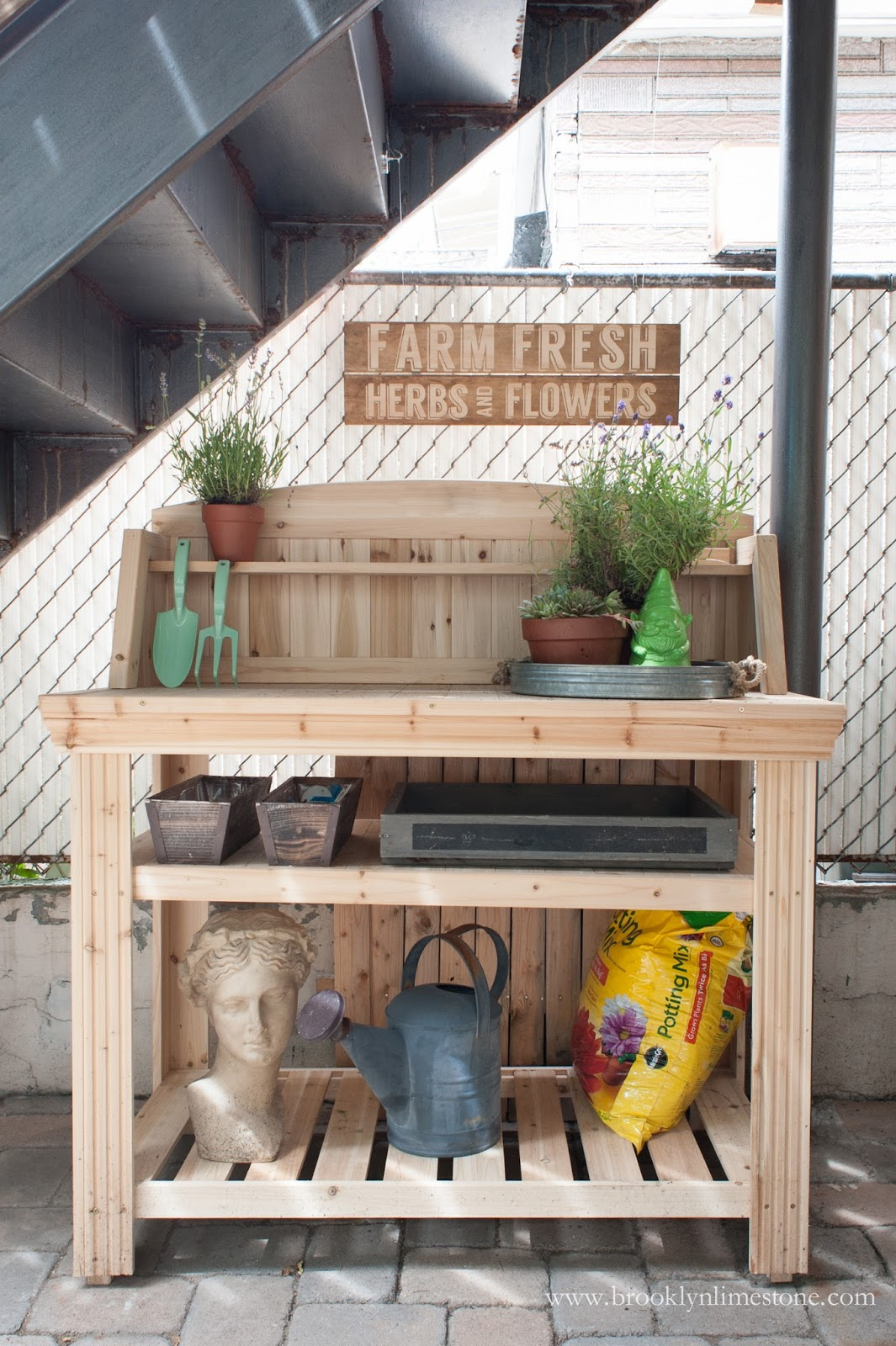 Potting Bench Buy Over Build 18 beautiful