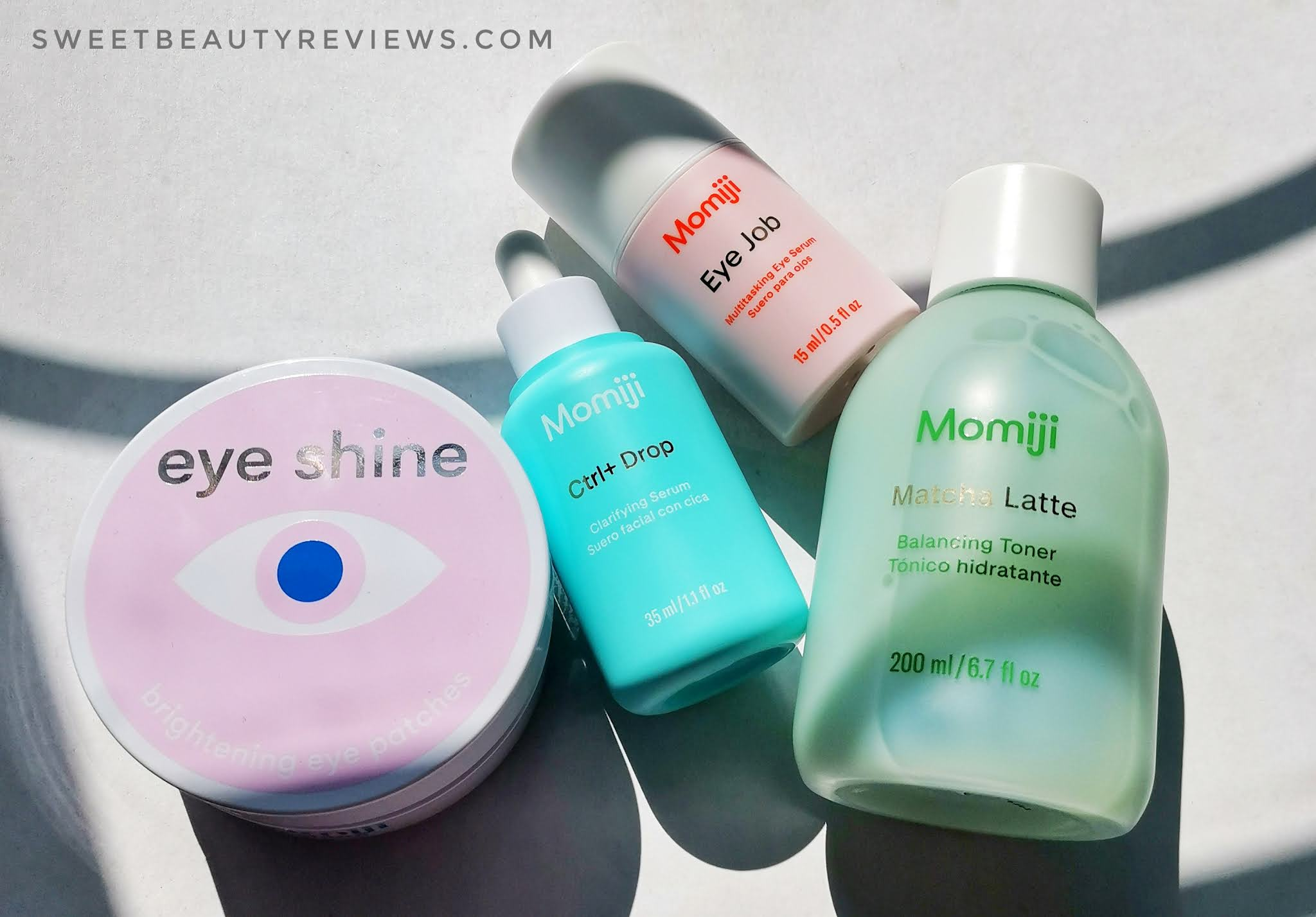 Review: MOMIJI Eye Shine Hydrogel Patches.