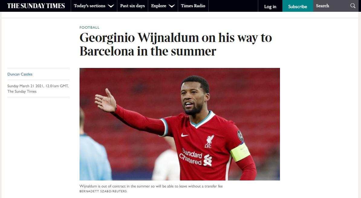 فينالدوم ينتقل إلى برشلونة