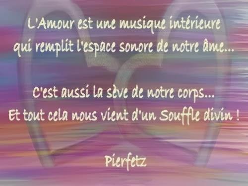 Citations Option Bonheur L Amour Est Une Musique Interieure