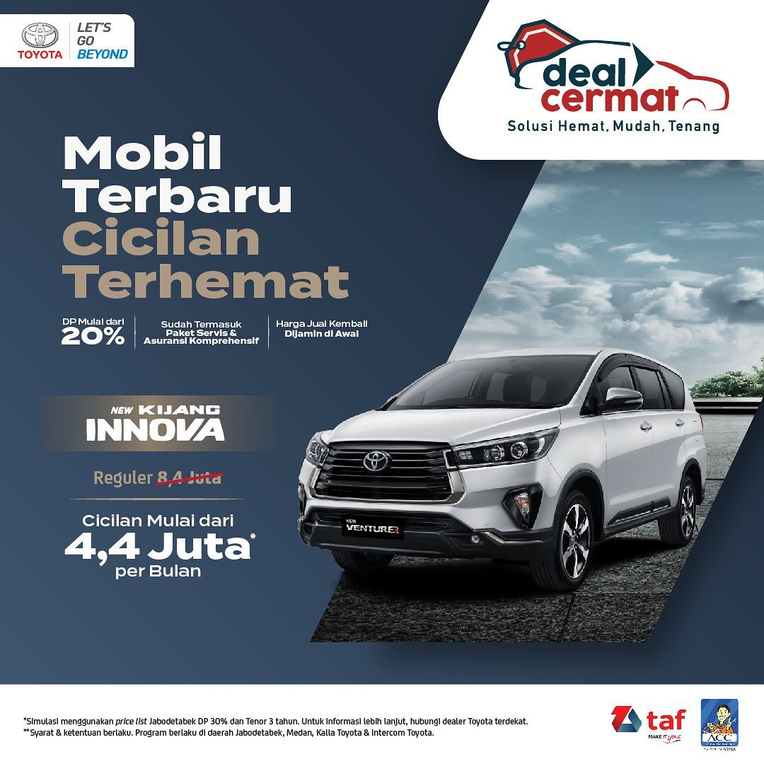 Promo New Innova Toyota Jakarta