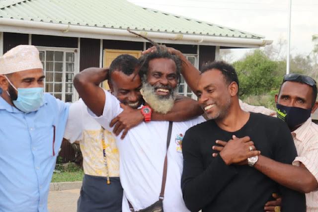 Omar Lali has been set free