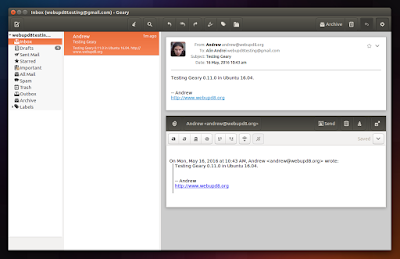 Geary email client Ubuntu Unity