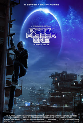 release poster for Ready Player One