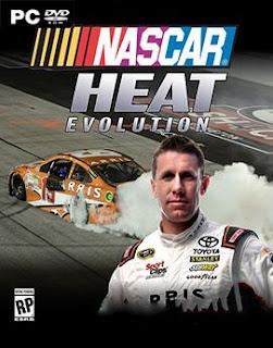 غلاف لعبة NASCAR Heat Evolution سباق السيارات القوي