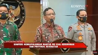 Prof. Suteki: Respon Menkopolhukam, Bagai Menepuk Air di Dulang Terpercik Muka Sendiri