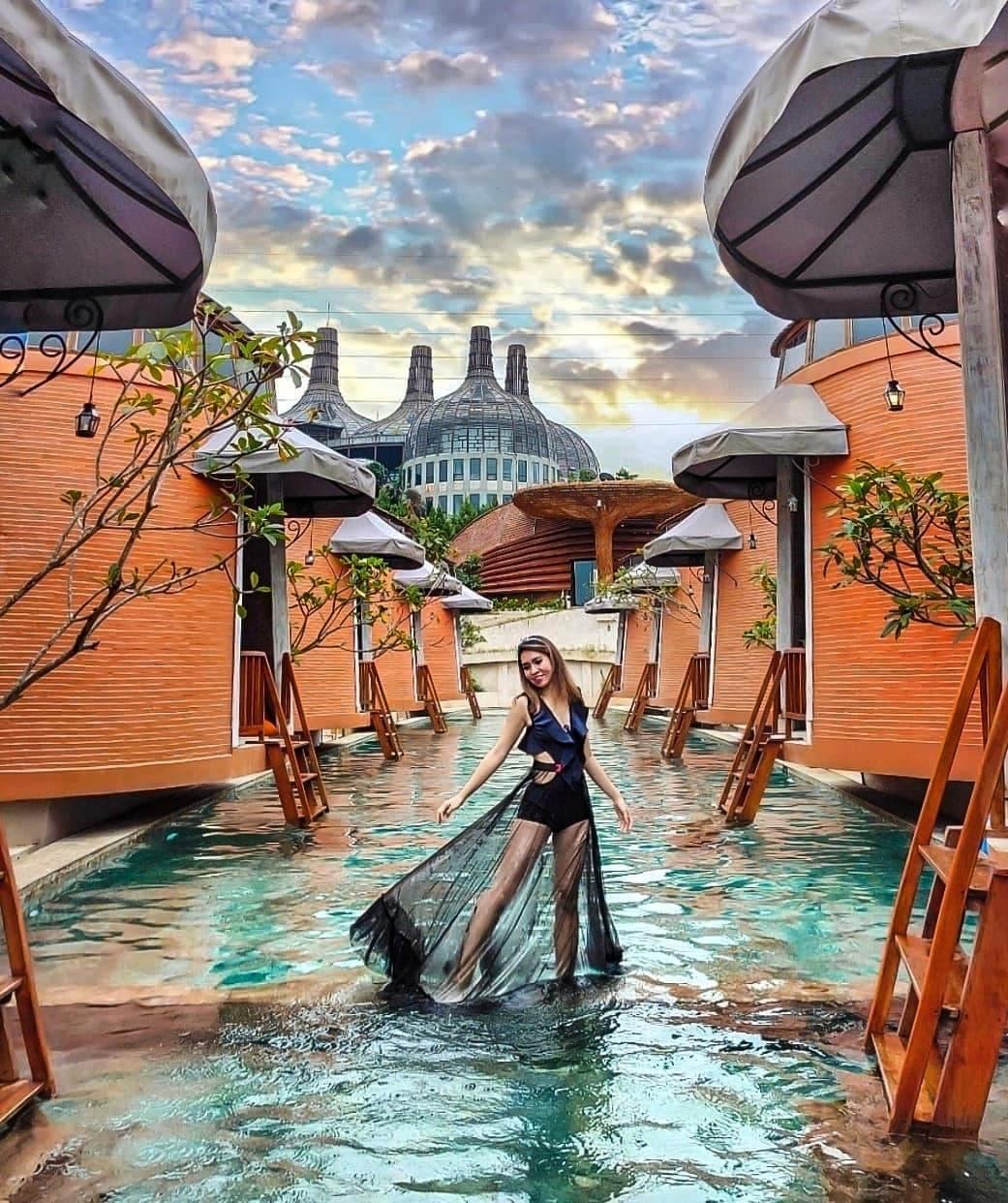 spot foto dusun the villas semarang