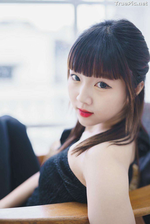 Image Thailand Model - Pakkhagee Arkornpattanakul - Cute Girl In Black - TruePic.net - Picture-1