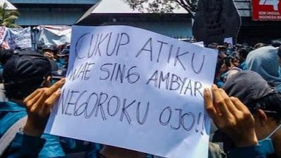 Cukup Atiku Wae Sing Ambyar, Negoroku Ojo!!