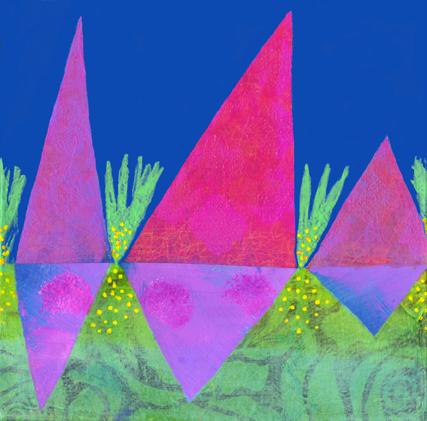 China Carnella Desert Icebergs painting