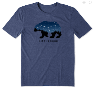 Ursa Major t-shirt by Life Is Good