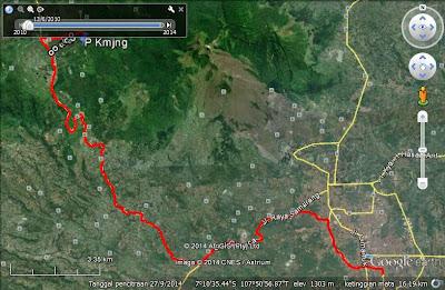 Rute menuju TWA Kamojang dari arah Garut