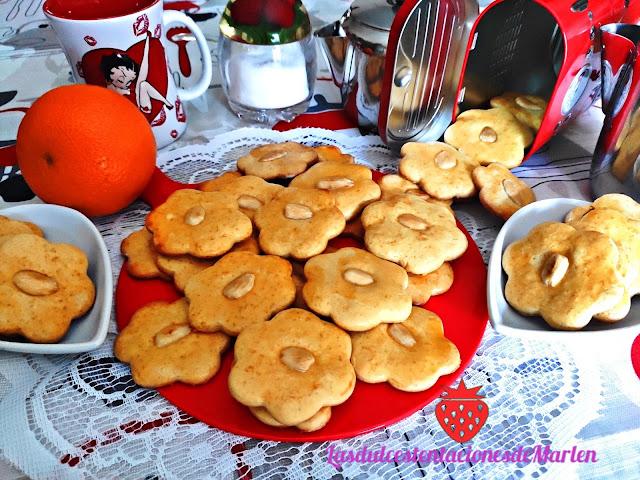 Galletas Caseras De Naranja