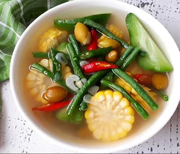 Resep cara membuat sayur asem bening enak segar sederhana dan sehat