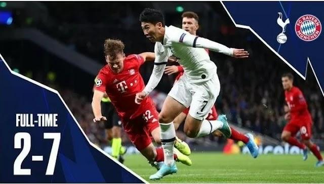 Tottenham - shame, Ronaldo creates history