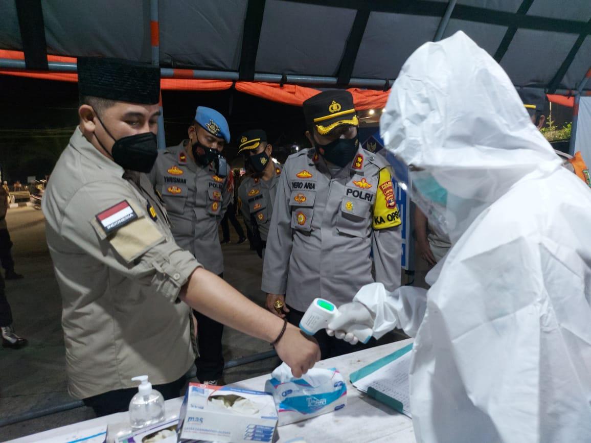 Bupati Pesawaran Meminta Satgas Covid Pantau Masjid Saat Sholat Ied Agar Terapkan Prokes