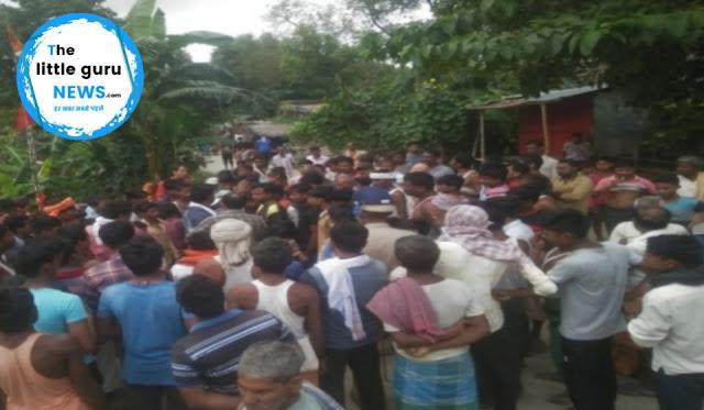 महावीरी झंडा को लेकर दो गांवो के बीच हिंसक झड़प, मौके पर पहुंची पुलिस टीम पर हमला