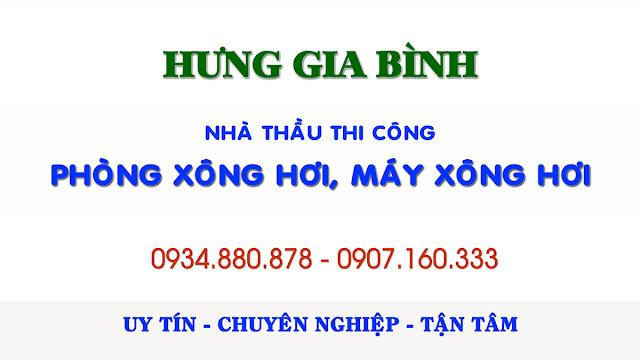 Hưng Gia Bình - Nhà thầu thi công phòng máy xông hơi Đà Nẵng