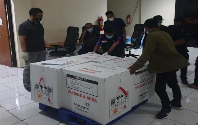 Vaksin Sinovac Tiba, Polda Banten Siap Kawal Ketat Hingga Pendistribusian ke Masyarakat