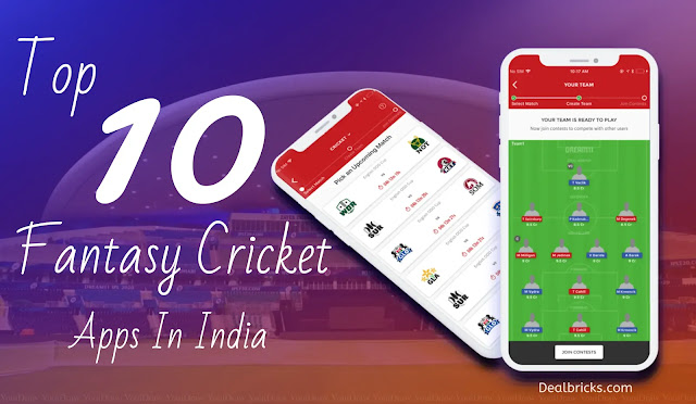 List Of Top 10 Fantasy Cricket Apps In India