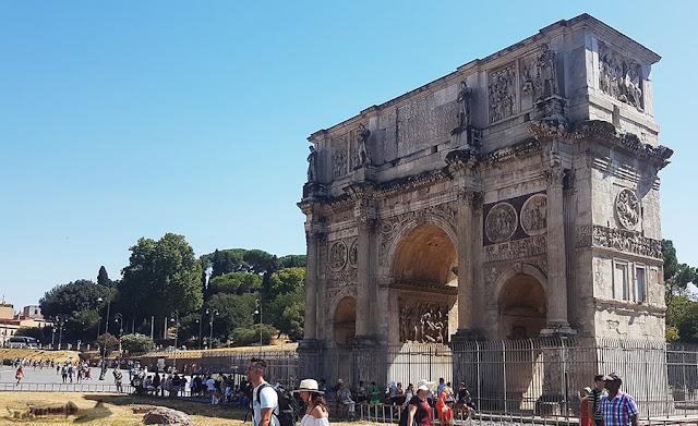 Arco Constantino, Roma, Itália