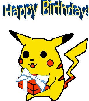 Birthday Greeting Cards Pokemon