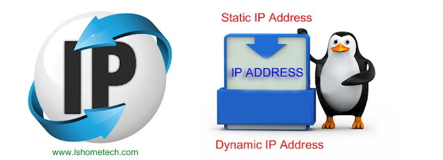 difference between Static and Dynamic IP address.