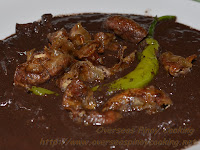 Dinuguan with Fried Isaw