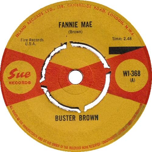 Fannie May UK Single 1965